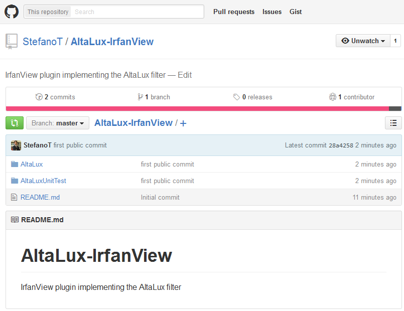 AltaLux filter for IrfanView is now open-source!