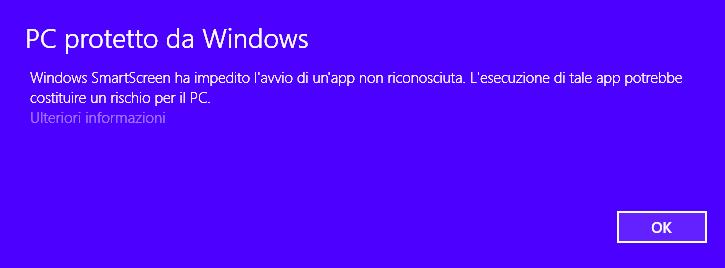 Windows smart screen 1